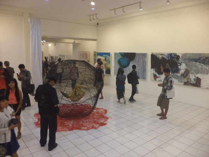 the opening exhibition on 18 January 2013