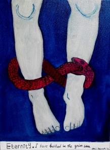 Eternal Bound 30 x 40 cm, mix media on canvas, 2015